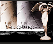 The Church Sundays at Liquid in Miami Beach - tagged with statue