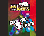 Fat Kats Pool Hall - tagged with happy hour