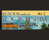Noche Hispana Wednesday at Cafe Iguana Kendall - tagged with town