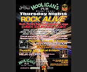Rock Alive at Hooligan's Pub in Miami Lakes - tagged with thursday nights