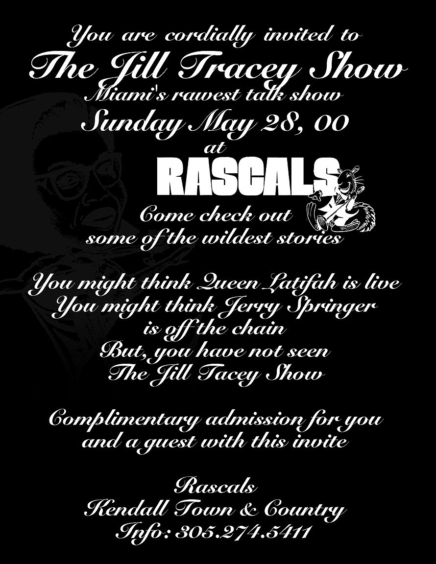 The Jill Tracey Show at Rascals
