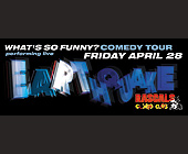 Earthquake Event at Rascals Comedy Club - tagged with rascals comedy club
