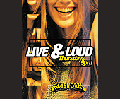 Live and Loud Thursdays at Gameworks - tagged with gameworks logo