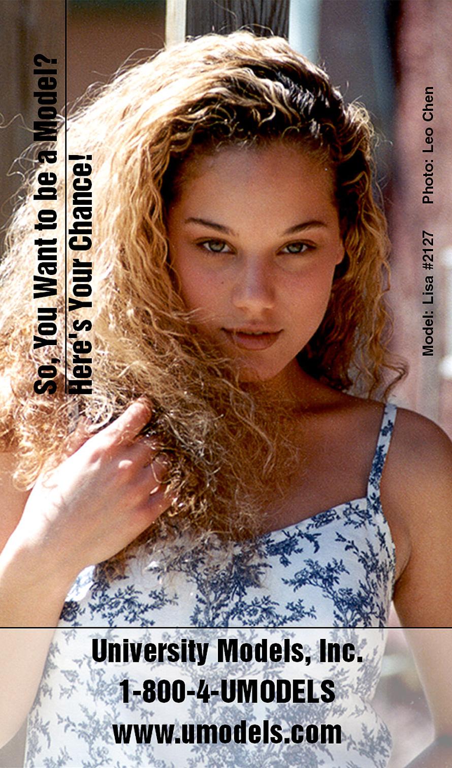 University Models and Talent - Lisa
