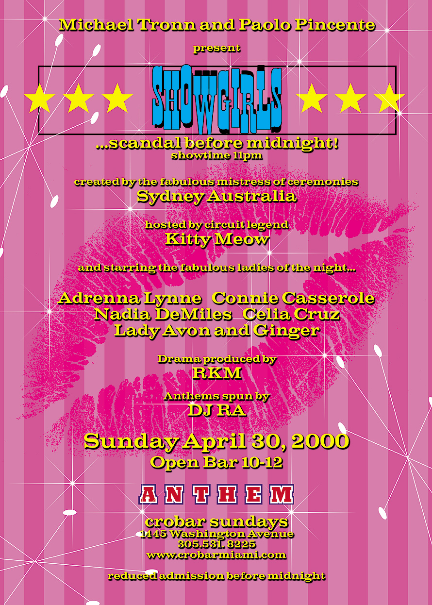 Anthem Showgirls at Crobar