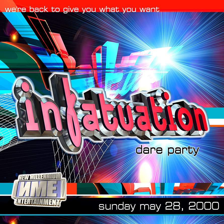 New Millennium's Infatutation Dare Party at Mad House
