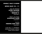 Club Space Friday - tagged with dj edgar v