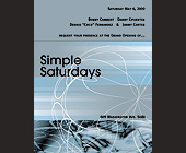 Simple Saturdays at Emerald City - created April 28, 2000