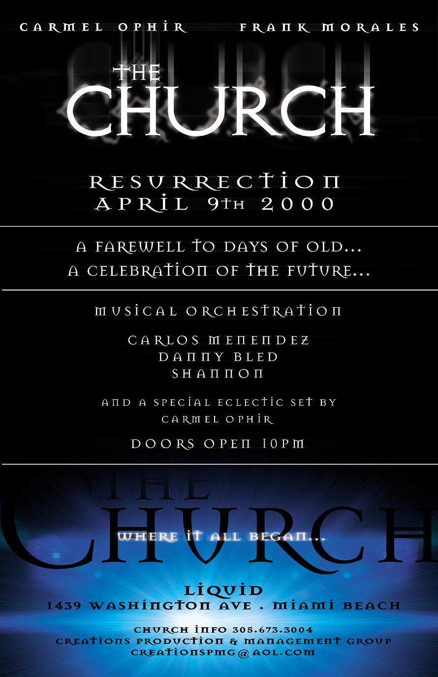 The Church Resurrection at Club Liquid
