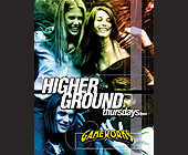 Higher Ground Thursdays at Gameworks - tagged with offer valid with college id
