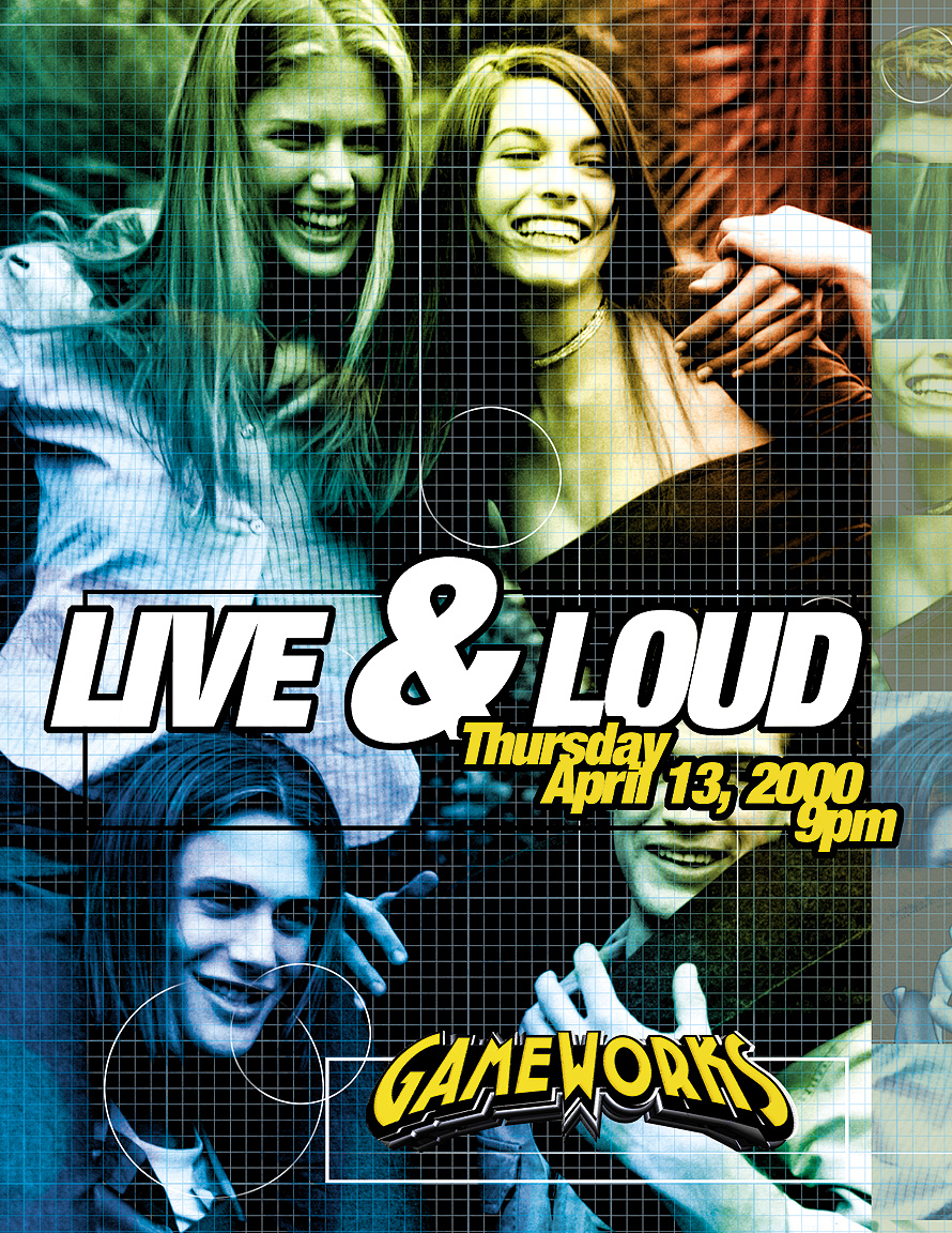 Live and Loud Thursday at Gameworks