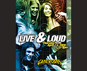 Live and Loud Thursday at Gameworks - tagged with grid