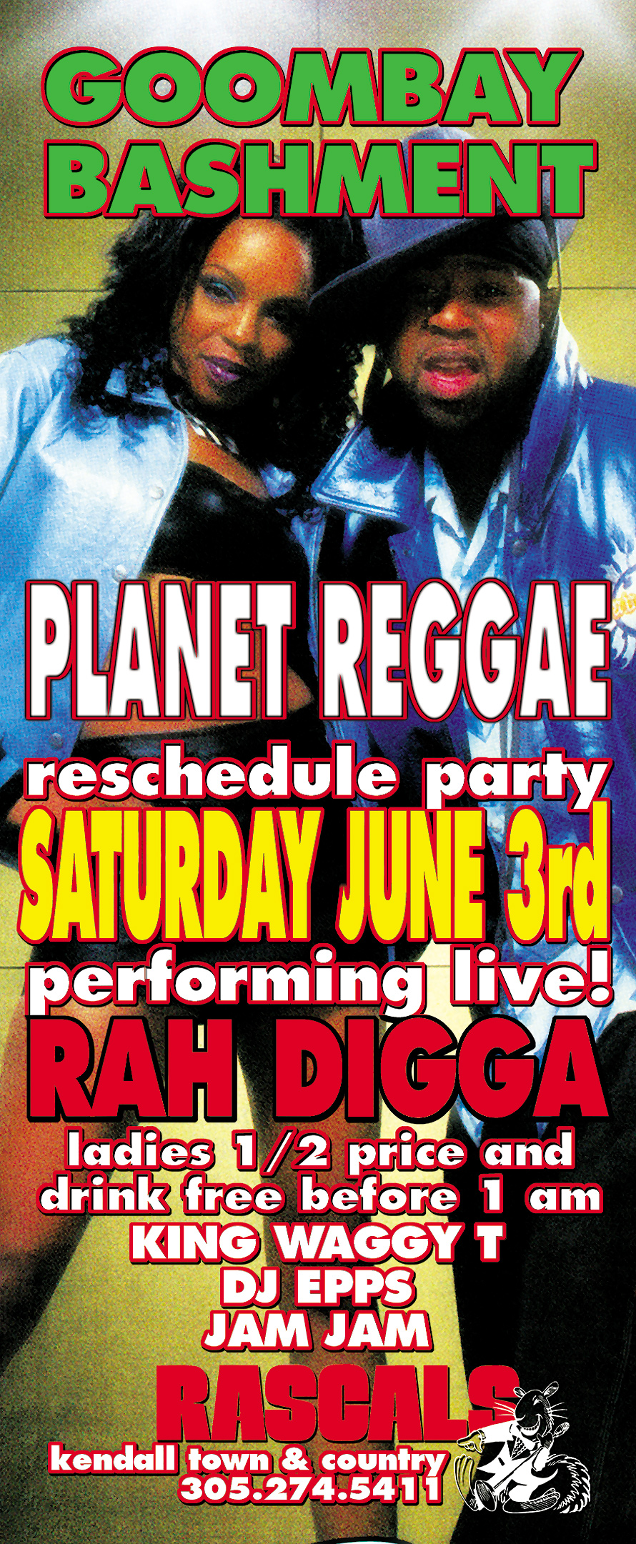 Planet Reggae Goombay Bashment