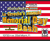 La Covacha Memorial Day Bash - tagged with american flag