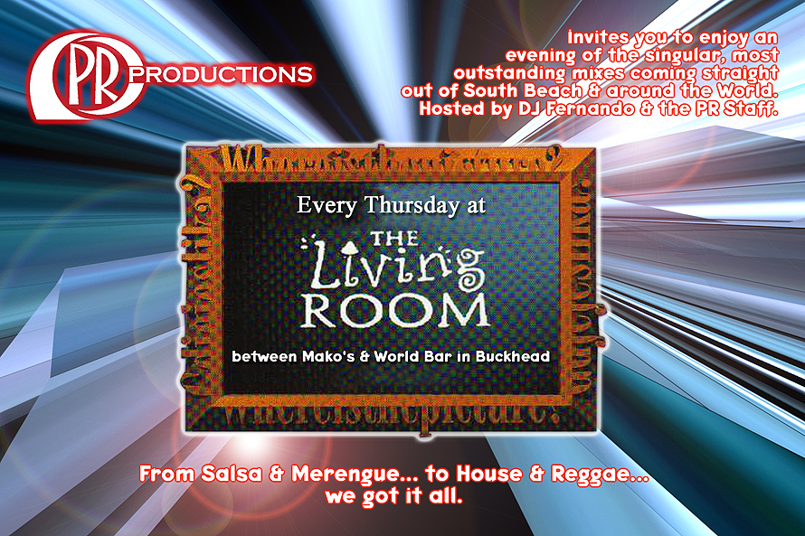 Every Thursday at The Living Room