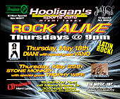 Hooligan's Sports Cafe - Rock Graphic Designs
