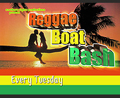Reggae Boat Bash - tagged with 21 and over
