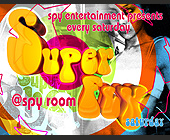 Super Fly Saturday at Spy Room - tagged with gun