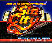 Sin City at Club Starlight - tagged with night sky