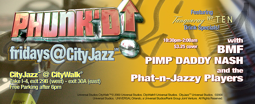 Fridays at CityJazz in CityWalk