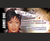 Comedy Show and Industry Kick off Party - created May 02, 2000