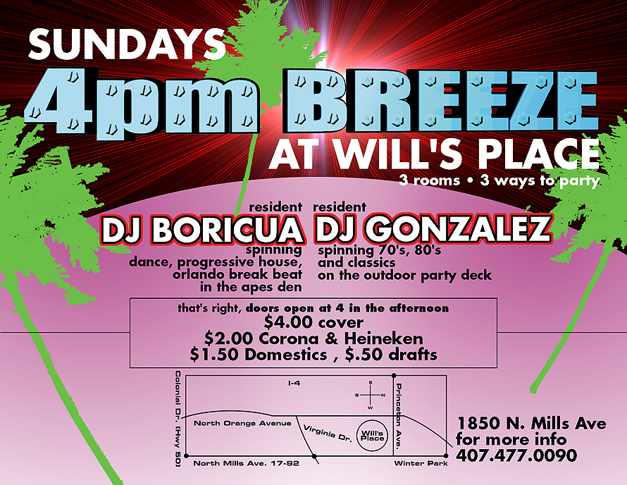 4pm Breeze at Will's Place