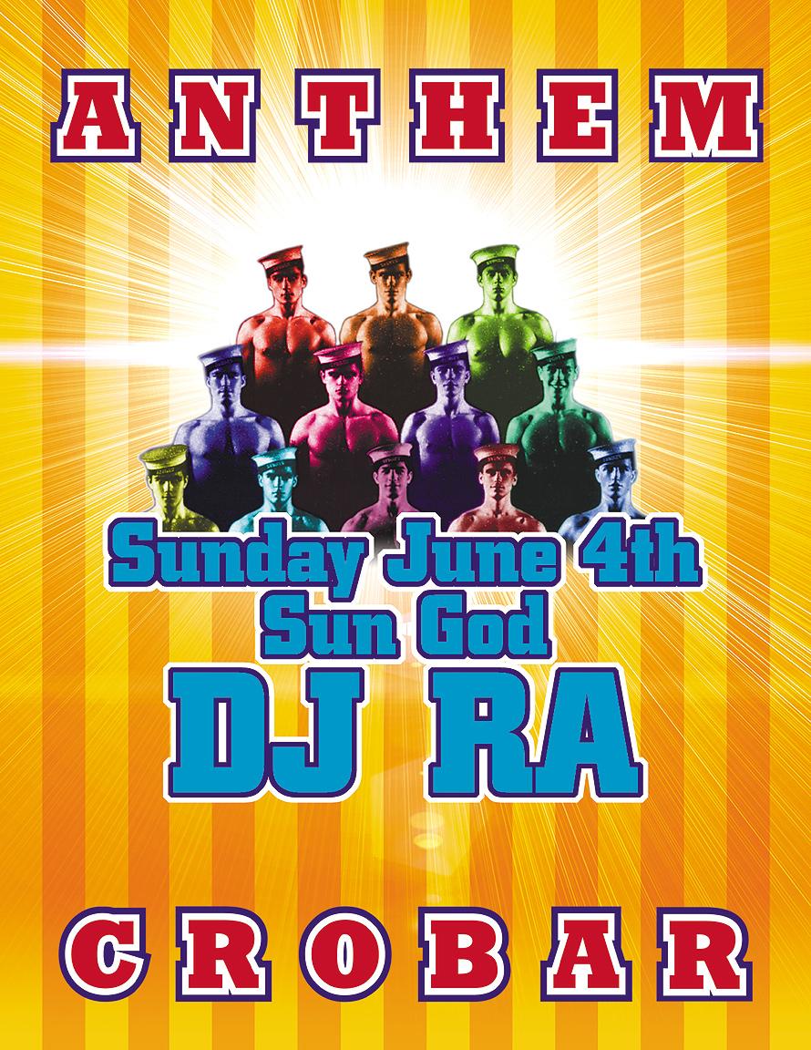 Anthem DJ Ra at Crobar