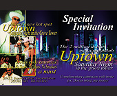 Uptown Nightclub Special Invitation - tagged with saturday night