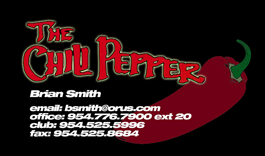 The Chili Pepper Business Card