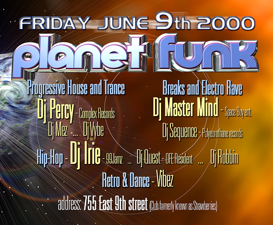 Planet Funk End of School Bash