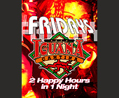 Fridays at Cafe Iguana - tagged with three