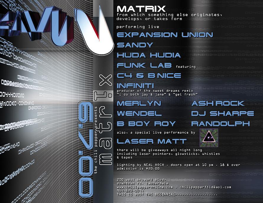 Matrix at The Chili Pepper