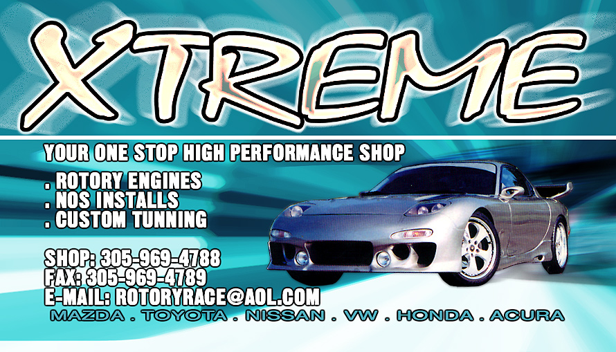 Xtreme Engineering Business Card