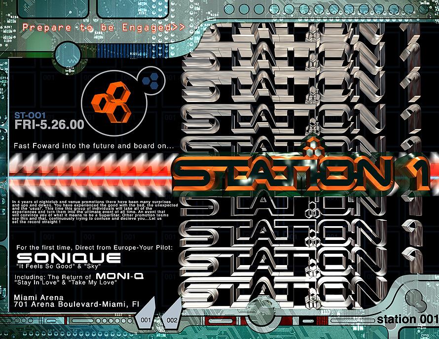 Station 1 at Miami Arena