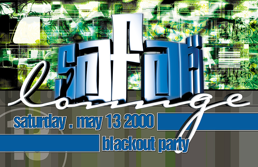 Safari Lounge Blackout Party at Club 5922