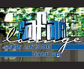 Safari Lounge Blackout Party at Club 5922 - Club 5922 Graphic Designs