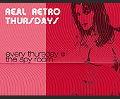 Real Retro Thursdays at The Spy Room - San Antonio Graphic Designs