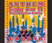 Anthem Paolo at Crobar - tagged with featuring high drama productions by