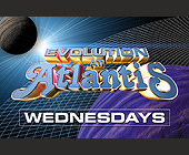 Evolution at Atlantis - tagged with spinning house