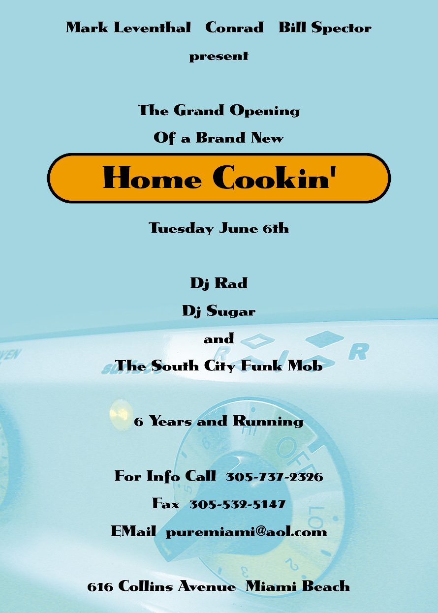 Grand Opening of Home Cooking at Pure Miami