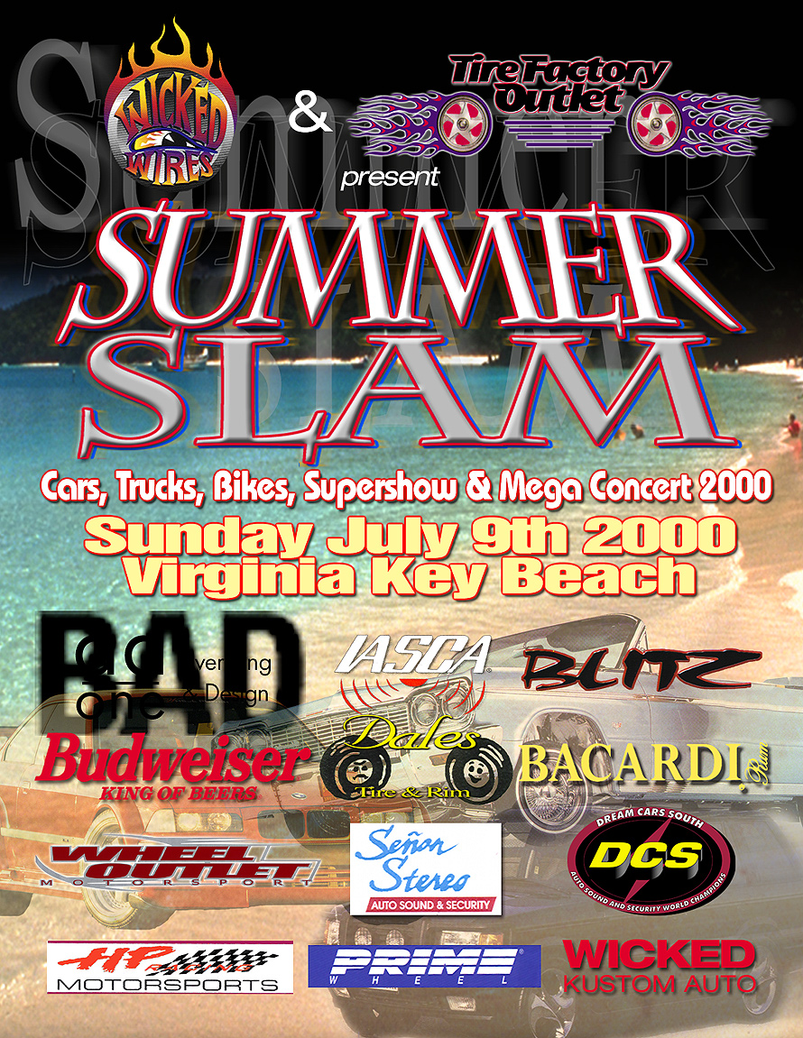 Summer Slam Tire Factory Outlet Supershow and Mega Concert