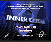Inner Circle Raw Emotion at Cobalt Lounge - 1131x1463 graphic design