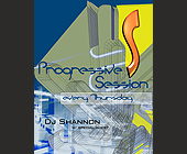 Progressive Session at Shadow Lounge Every Thursday - tagged with s design