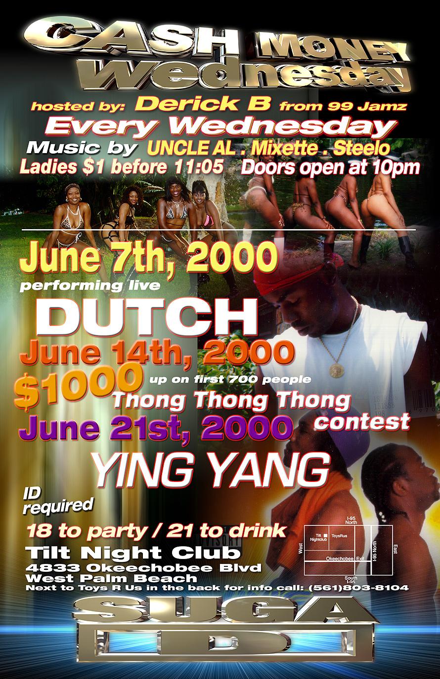 Cash Money Wednesday at Tilt Nightclub