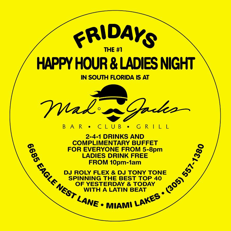Ladies Night at Mad Jacks Bar Club and Grill