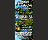 Planet Reggae at Rascals - tagged with free admission
