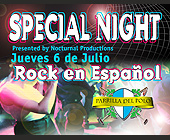 Rock En Espanol at Parrilla del Pollo - tagged with ol