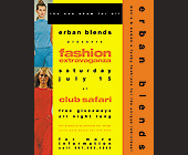 Fashion Extravaganza at Club Safari - created June 14, 2000