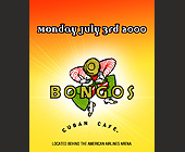 Bongos Cuban Cafe - tagged with derrick orosa