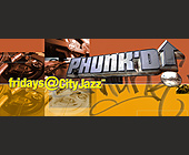 Fridays at CityJazz in CityWalk - Flyer Printing